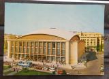 CPIB 17658 CARTE POSTALA - BUCURESTI. SALA PALATULUI, AUTOTURISM, Circulata, Fotografie
