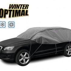 Semi Prelata auto, husa exterioara Porsche Cayenne, pentru protectie impotriva inghetului si soarelui, marime SUV, lungime 300-330cm, model Winter...