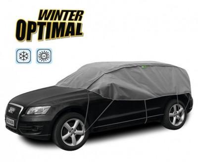 Semi Prelata auto, husa exterioara Dacia Duster, pentru protectie impotriva inghetului si soarelui, marime SUV, lungime 300-330cm, model Winter Op... foto