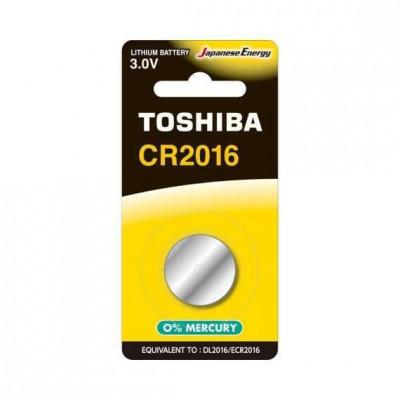 Baterie litiu Toshiba CR2016 3V 1 Bucata /Set foto