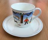 Set - cafea / ceai - Villeroy and Boch - Anotimpuri - Iarna