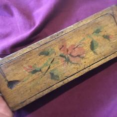 Vechi penar din lemn din prima perioada a secolului XX / de colectie !