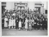 B2024 Elevi premianti liceu Gojdu director Teodor Nes Oradea anii 1930