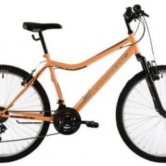 Bicicleta Dama Kreativ 2604, Cadru 18inch, Roti 26inch (Portocaliu)