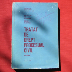 ILIE STOENESCU , SAVELLY ZELBERSTEIN - TRATAT DE DREPT PROCESUAL CIVIL (vol.1)