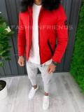 Geaca de iarna pentru barbati PREMIUM - rosie - geaca slim fit - A6485