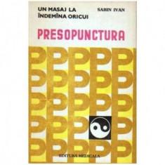 Presopunctura - Un masaj la indemana oricui