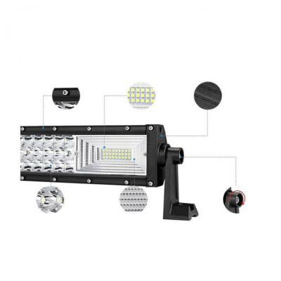 Proiector auto pentru offroad 270W cu 90 LED foto