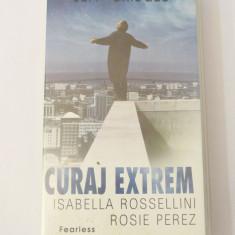 Caseta video VHS originala film tradus Ro - Curaj Extrem