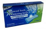 Tratament Benzi Albire Dinti cu Gel, Advanced Teeth, Set 14 Plicuri, Aroma Menta, Oem