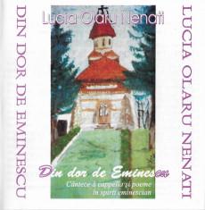 CD Lucia Olaru Nenati ?? Din Dor De Eminescu, original foto