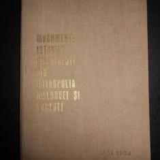 MONUMENTE ISTORICE BISERICESTI DIN MITROPOLIA MOLDOVEI SI SUCEVEI (1974)