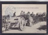 MILITARA  ARTILERIE 1917/18  PRIMUL  RAZBOI  MONDIAL ARMATA FRANCEZA DIN ORIENT