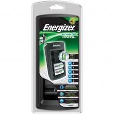 Incarcator universal pentru acumulatori AA, AAA, C, D si 9V Energizer