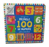 Bebe învață. Primele 100 de numere. Carte cu ferestruici