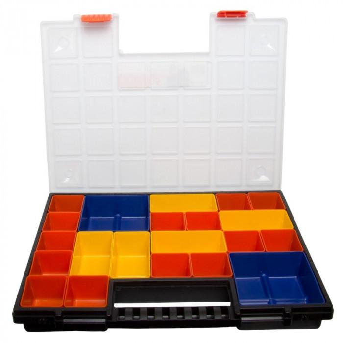 Cutie casetata modulara Proline HD, 390 x 303 x 50 mm, 21 casete