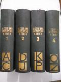 DICTIONAR ENCICLOPEDIC ROMAN (4 Volume) - 1962