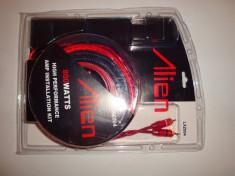 Kit cabluri instalare amplificator audio masina 800W subwoofer bass foto