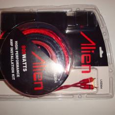 Kit cabluri instalare amplificator audio masina 800W subwoofer bass