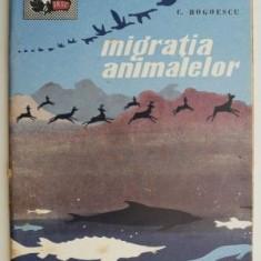 Migratia animalelor – C. Bogoescu