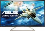 Monitor Gaming VA LED ASUS VA326N-W, Full HD (1920 x 1080), VGA, DVI, Ecran Curbat, 144 Hz, 4 ms (Alb)