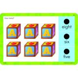 Carduri Junior Hot Dots, 72 activitati, 3 - 7 ani