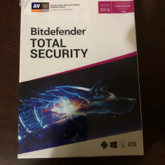 Licenta Antivirus Bitdefender Total Security 2019 - 1 An 5 Dispozitive