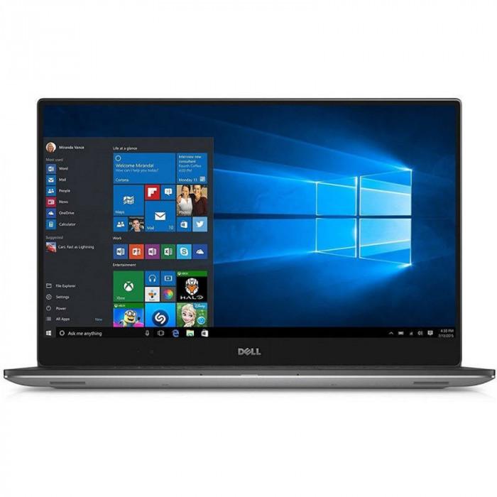 Laptop Dell XPS 9570 15.6 inch UHD Intel Core i7-8750H 2.2 Ghz 16GB DDR4 512GB SSD M.2 GTX 1050Ti 4GB Windows 10 Pro Silver