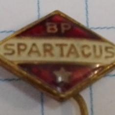 Insigna club fotbal Spartacus Budapesta, anii 1960, Ungaria
