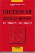Dictionar German-Roman de termeni economici foto