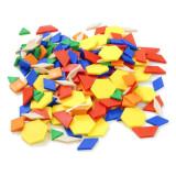 Forme geometrice diverse Miniland, 250 piese, 2 - 12 copii