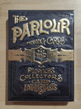 Carti de joc The Parlour Black playing cards