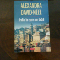 Alexandra David-Neel India in care am trait