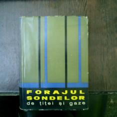 Forajul sondelor de titei si gaze - N. I. Satov, V. S. Fedorov