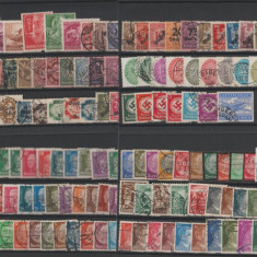 Deutsches Reich - Lot timbre stampilate