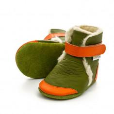 Cizme cu talpa moale Liliputi Jungle