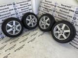 Jante Aluett BMW E87,E36,E90,E91,E92 cu anvelope de iarna 205/55/16, 7, 5