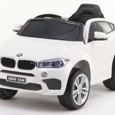 Masinuta electrica BMW X6M 2x35W 12V PREMIUM Alb