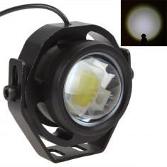 Proiector cu led, 1000 LM (lumeni) 10 W cu lupa, stroboscop, rezistent la apa