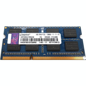 Memorie SODIMM ram laptop KINGSTON 4Gb DDR3 1600Mhz PC3-12800, 1.35V