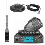 Pachet statie radio CB Avanti Delta cu antena Cento si baza magnetica
