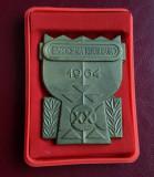 Placheta Spartachiada republicana 1964 - Sport Romania - medalie