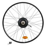 "Roată spate bicicletă polivalentă electrică 28"" E-Riverside 500 - 36v"
