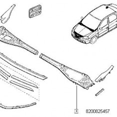 Grila Parbriz Stanga Logan, Sandero, Duster Renault 8200825457