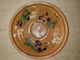 CERAMICA VECHE TRANSILVANIA - BLID LUT - ROATA OLARULUI - MODEL CU STROPITURA