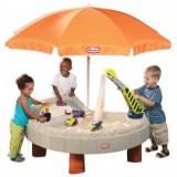 Little Tikes - Masuta cu umbrela pentru apa si nisip