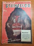 ziarul stiintelor 10 februarie 1948-centrul aeromodele,aluminiul metalul vitezei