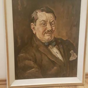 Tablou Traian Cornescu - Portretul lui Const. Zatreanu, Pres Trib. Ilfov