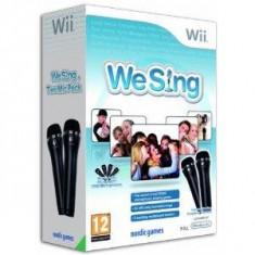 We Sing Bundle cu 2 microfoane Logitech Wii