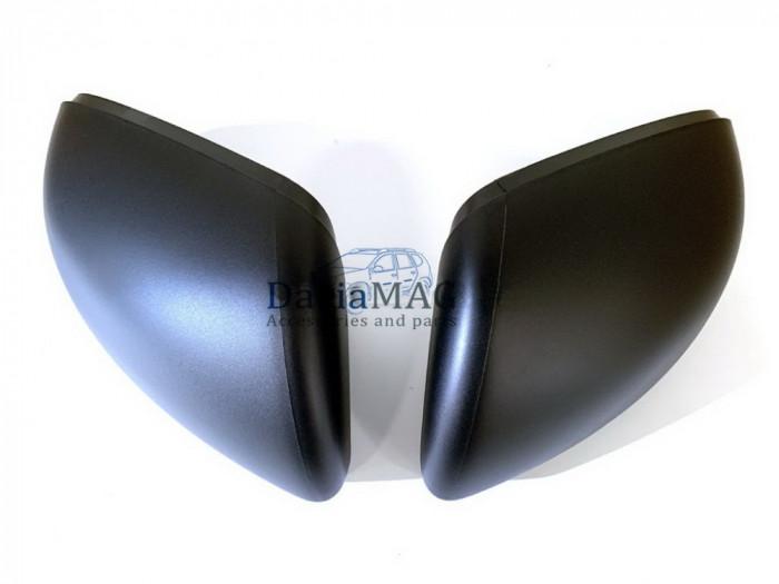 Duster II (2018-) - Set ornament oglinda exterioara - negru mat (Dacia Original)